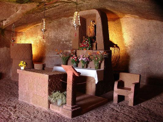 Artenara, Höhlenkirche Santa Maria de la Cuevita