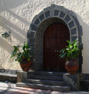 Las Palmas, Portal im Pueblo Canario