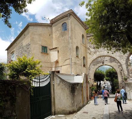 Ravello. B&B Palazzo Della Marra, meine Unterkunft
