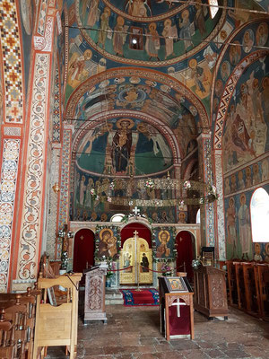 Kloster Podmaine, Innenraum der jüngeren Kirche