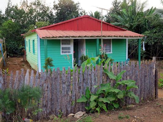 Typisches Siedlungshaus im Tal von Viñales