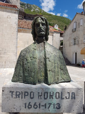 Tripo Kokolja (Perast, 1661 - Korcula, 1713), wichtiger Vertreter der barocken Malerei in Dalmatien