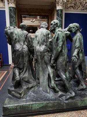 Auguste Rodin (1840-1917): Die Bürger von Calais, Bronze 1902-03