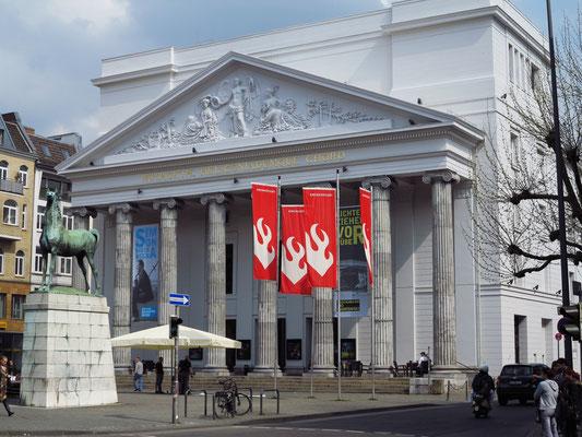 Theater Aachen, klassizistischer Bau von 1825 (2.5.2013)