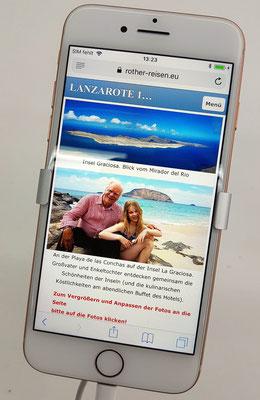 Testen des neuen Iphone 8 in der Europa Galerie