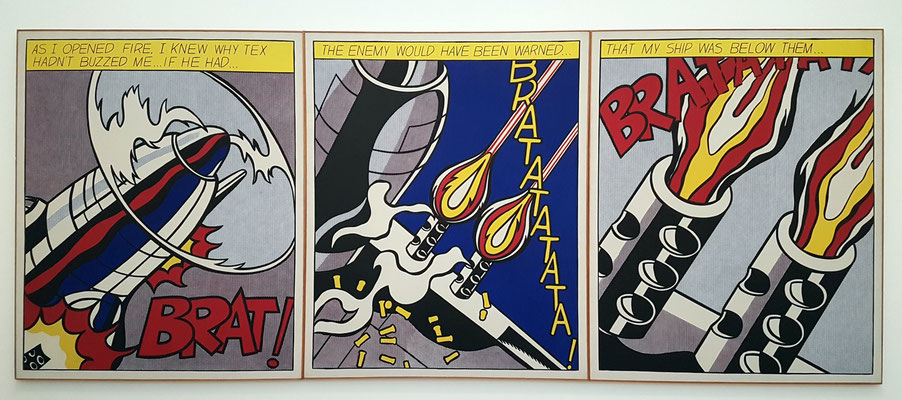 Roy Lichtenstein: As I Opened Fire, 1964