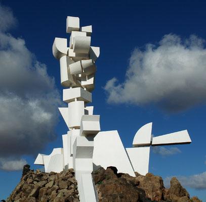 Monumento al Campesino, Skulptur Fecundidad (Fruchtbarkeit) von César Manrique