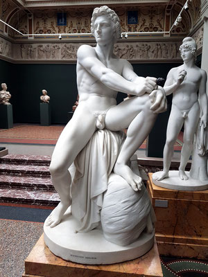 H. W. Bissen (1798-1868): Zorniger Achilleus