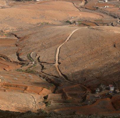 Blick vom Mirador Morro Velosa nach N