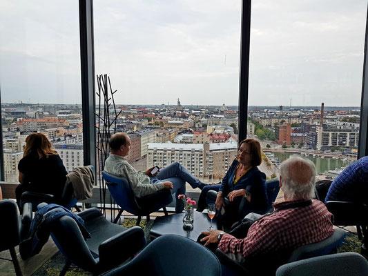 Blick aus der Sky-Bar nach OstNordOst