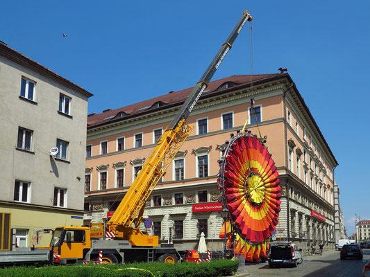 Vorbereitungen für eine Performance zur Feier in der Kulturhauptadt Europas 2016: Lublin, Stadt der Inspiration in der Europäischen Kulturhauptstadt Wroclaw vom 25. - 29.5.2016