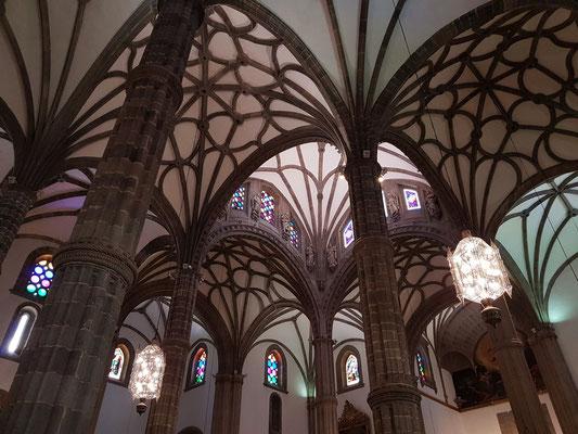 Las Palmas, Kathedrale Santa Ana, Innenraum mit Kreuzrippengewölbe