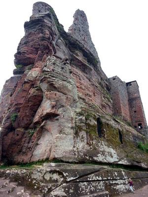 Ostspitze der Ruine Fleckenstein