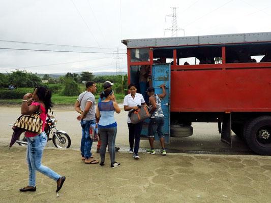 Busverkehr auf dem Land