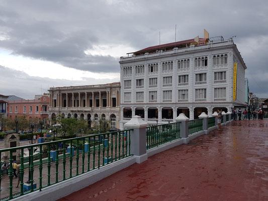 Blick von der Kathedrale zum Hotel Casa Granda