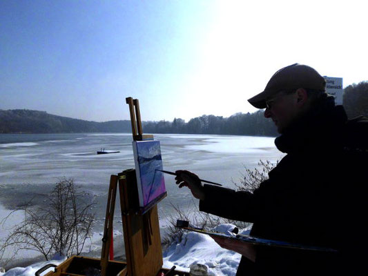Pleinair im Winter