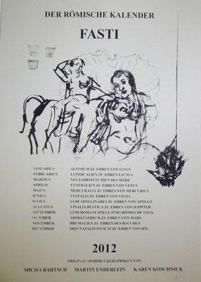 """Deckblatt """"FASTI"""" 2012"""