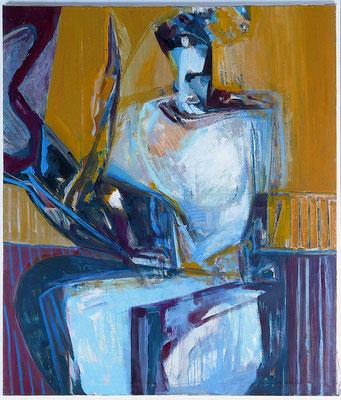 Die Schwestern Figur_rechte Tafel 135 x 115 Öl Lw. 2000