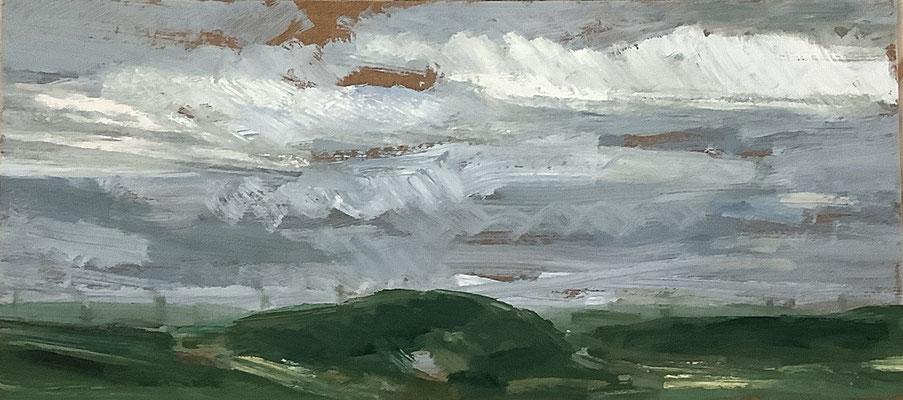 Wolken 20x35 Öl HF 2021