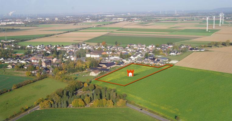 Luftbild Baugebiet 1