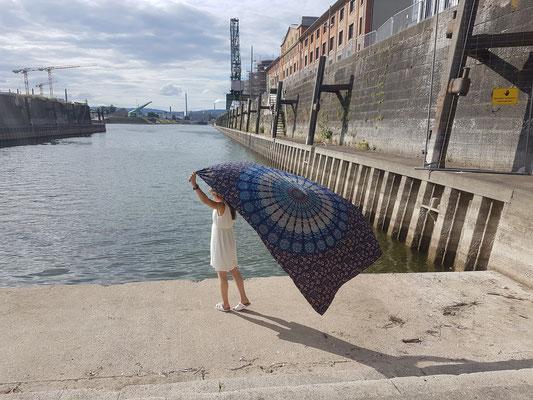 Bildeinsendung von Jasminslittlelifestyleblog mit unserem Wandtuch