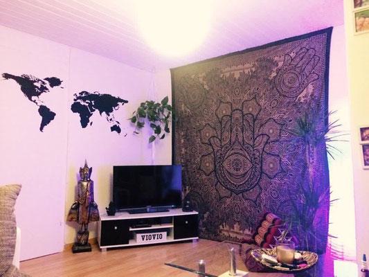 Zitat: Würde gerne meine ganze Wohnung mit euren Wandtücher dekorieren.