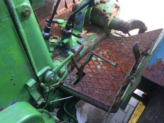 Schwungraddeckel Lanz D1616 D2016 D2416 2816 Volldiesel Traktor