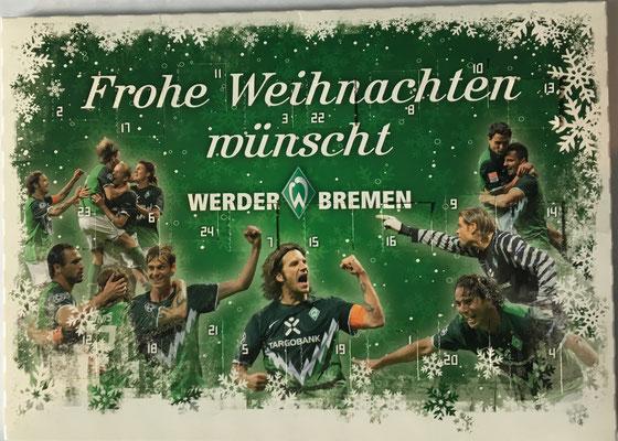 Frohe Weihnachten Werder Bremen.Adventskalender Werder Zimmer De Werder Bremen Sammlung