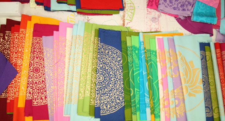 Volle Pracht: viele Farben - viele Prints