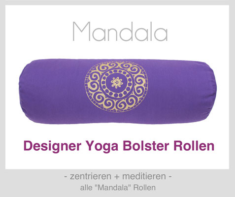 "Yoga Bolster Rollen ""Mandala"""