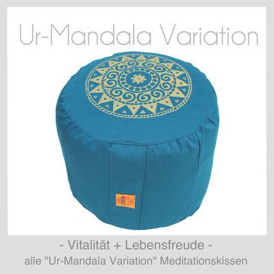 """Meditationskissen """"UrMandala Variation"""""""