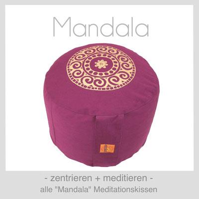 "Meditationskissen ""Mandala"""