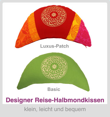 Designer Reisekissen Reisemond