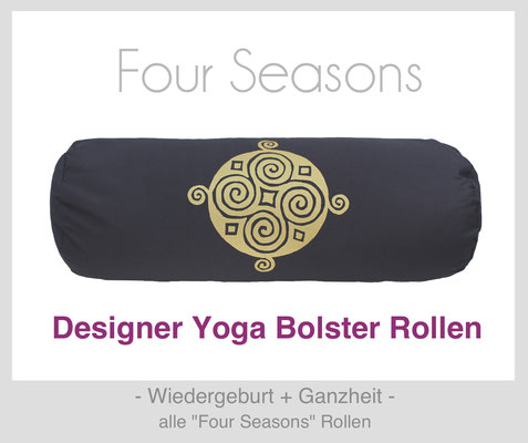 "Yoga Bolster Rollen ""Four Seasons"""