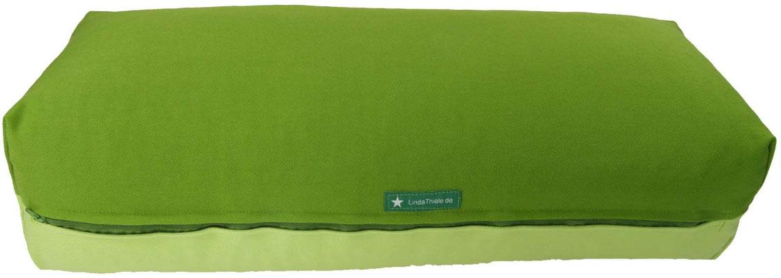 Yoga Bolster eckig Köln kiwi + hellgrün