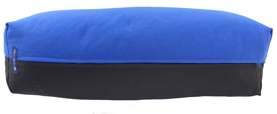 Yoga Bolster eckig Köln royal + anthrazit