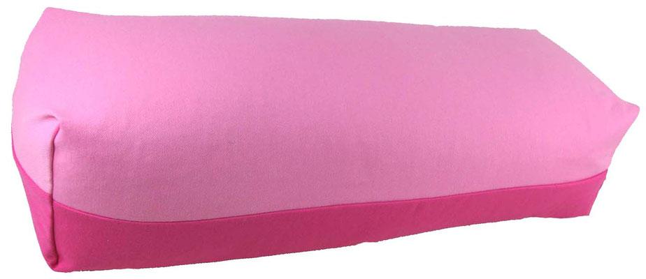 Yoga Bolster eckig Köln rosa + pink