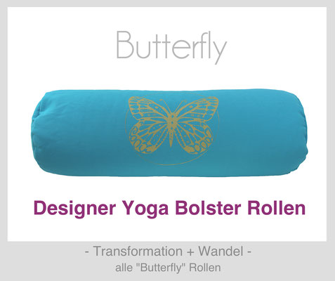 "Yoga Bolster Rollen ""Butterfly"""