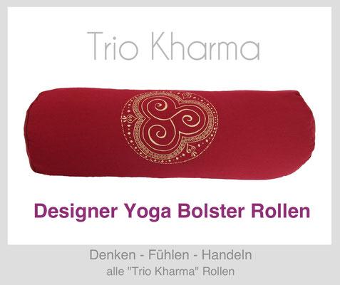 "Yoga Bolster Rollen ""Trio Kharma"""