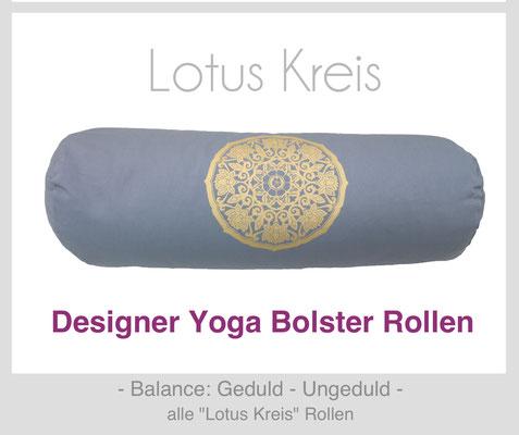 """Yoga Bolster Rollen """"Lotus kreis"""""""
