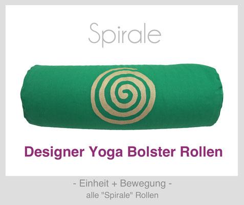"Yoga Bolster Rollen ""Spirale"""