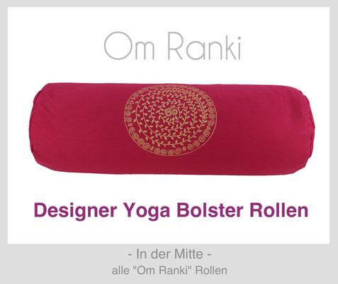 """Yoga Bolster Rollen """"Om Ranki"""""""