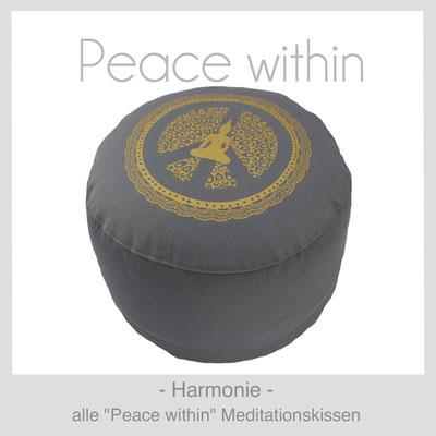 "Meditationskissen ""Peace within"""