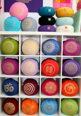 Designer Meditationskissen Gr.S Basic mit verschiedenen Prints und Farben