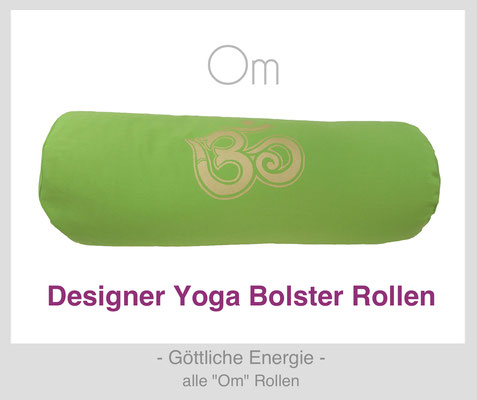 """Yoga Bolster Rollen """"Om"""""""