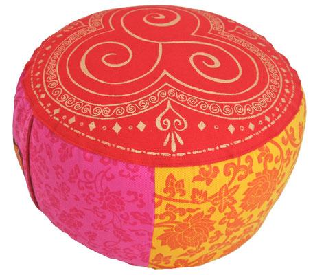 "Designer Meditationskissen Gr.M ""India Sari"""