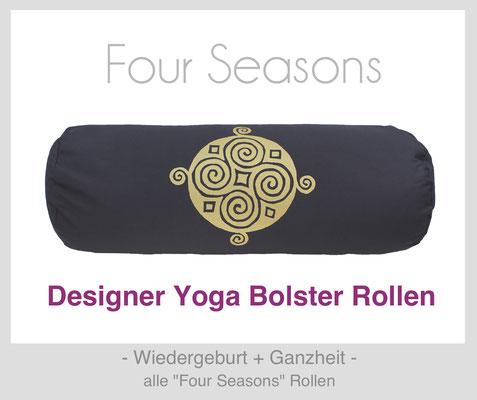 "Yoga Bolster Rollen ""Four Seasons"""