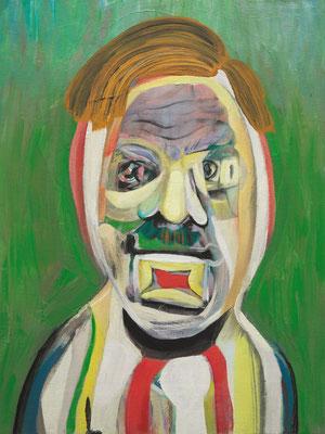 Donald Escobar, (the Legacy, Nr 50) --- oil on canvas --- 30,5 cm  x 40,6 cm --- 2019