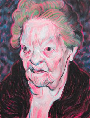 Erica Churchill (the Legacy, Nr 72) --- oil on canvas --- 30,5 cm  x 40,6 cm --- 2020