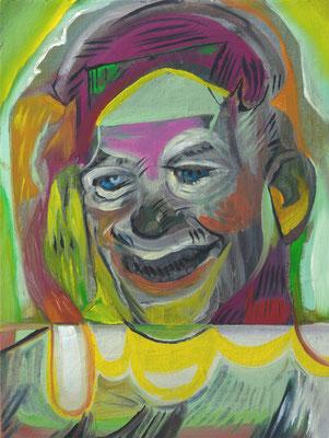 Peaches Heisenberg (the Legacy, Nr 88) --- oil on canvas --- 30,5 cm x 40,6 cm --- 2021
